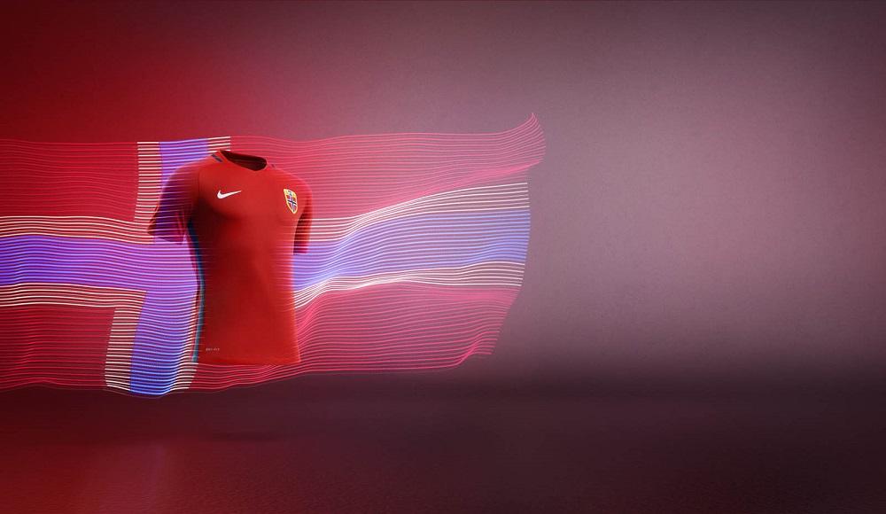 Новая форма сборной Норвегии 2016