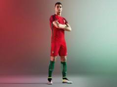 Новая форма сборной Португалии 2016