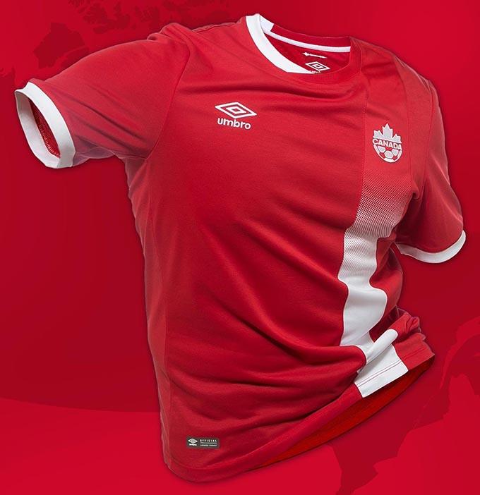 Домашняя форма сборной Канады 2016
