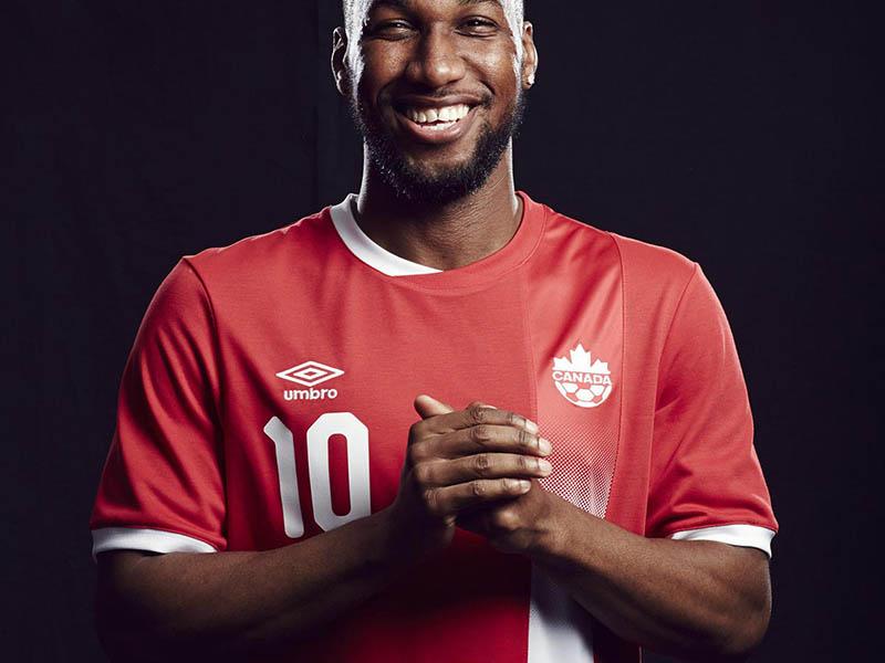 Новая форма сборной Канады 2016