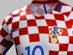 Новая форма сборной Хорватии 2016