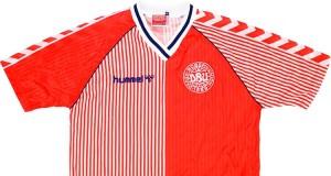Форма сборной Дании 1986