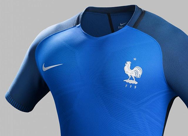 Домашняя форма сборной Франции Евро-2016