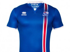 Домашняя форма сборной Исландии 2016