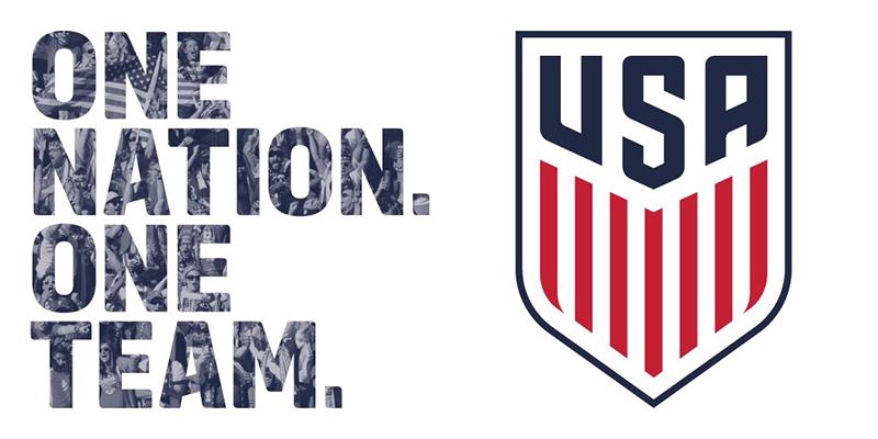 Новый логотип федерации футбола США