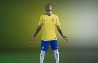Новая форма сборной Бразилии 2016