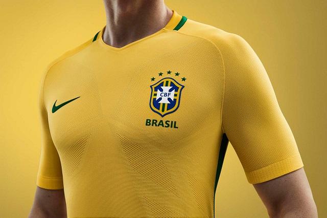 Домашняя форма сборной Бразилии 2016