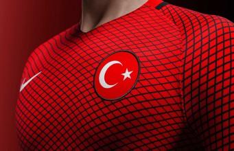 Домашняя форма сборной Турции 2016