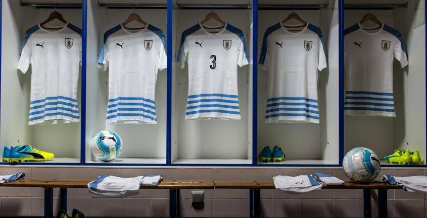 Новая форма сборной Уругвая 2016