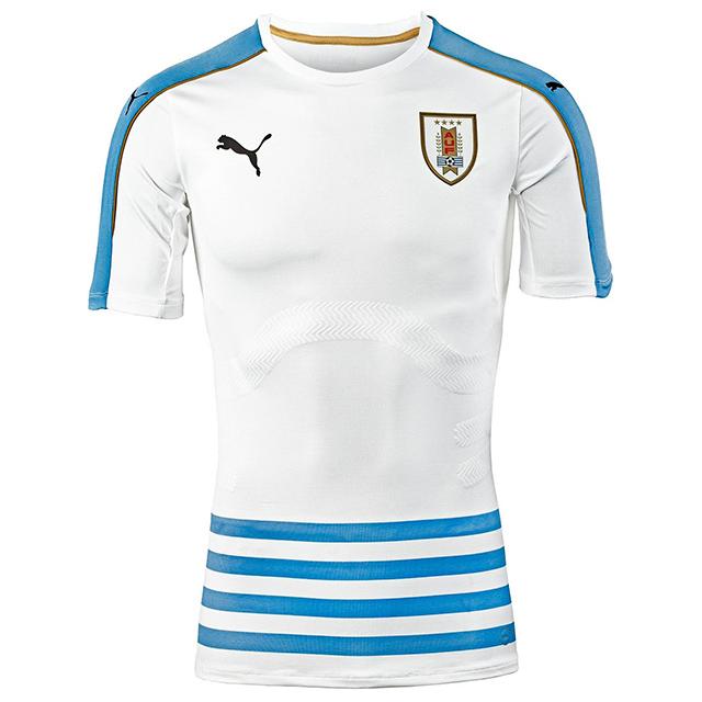 Гостевая форма сборной Уругвая 2016