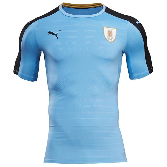 Домашняя форма сборной Уругвая 2016
