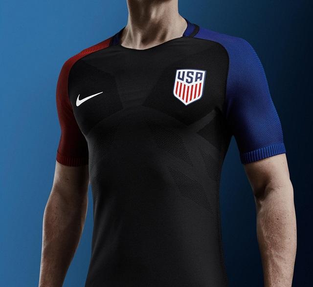 Гостевая форма сборной США 2016