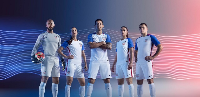 Новая форма сборной США 2016