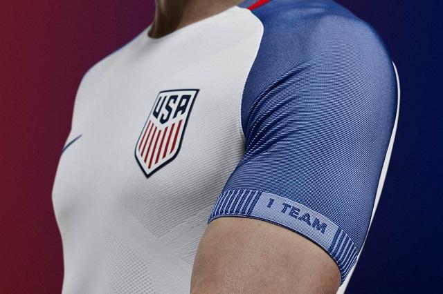 Домашняя форма сборной США 2016