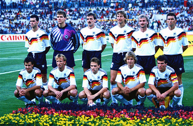 Сборная ФРГ 1990