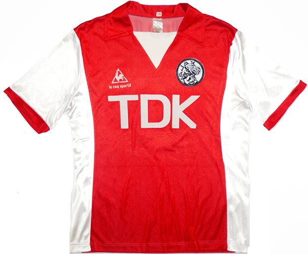 "Форма ""Аякса"" 82-84 | Ajax retro 82-84 shirt"