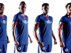 Новая форма сборной Гаити 2016