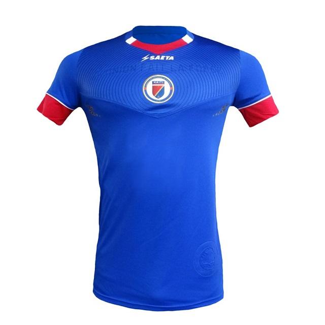 Домашняя форма сборной Гаити 2016