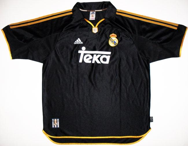 """Выездная форма """"Реал Мадрид"""" 1999-01"""