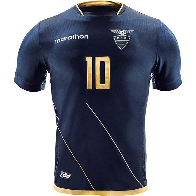 Гостевая форма сборной Эквадора 2016