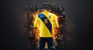 Новая форма сборной Эквадора 2016