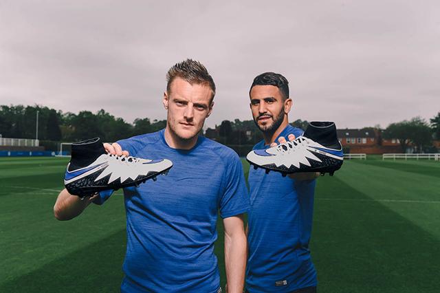 Nike выпустила бутсы для Варди и Мареза.
