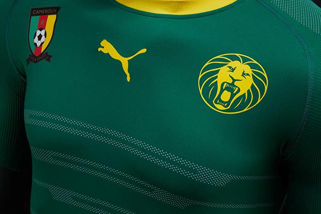 Новая форма сборной Камеруна 2016