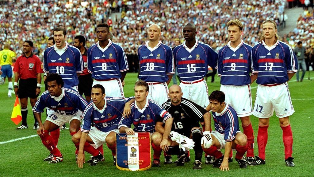 Сборная франции футбол 1998