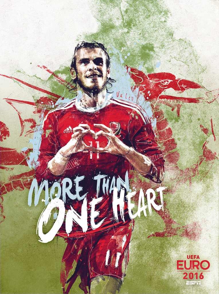 Плакат сборной Уэльса