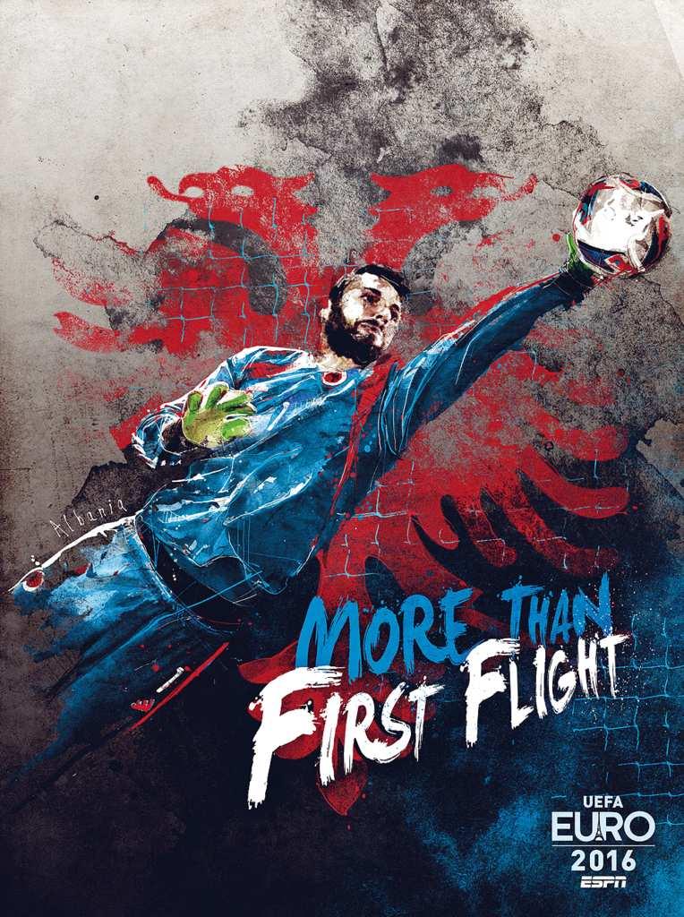 Плакат сборной Албании