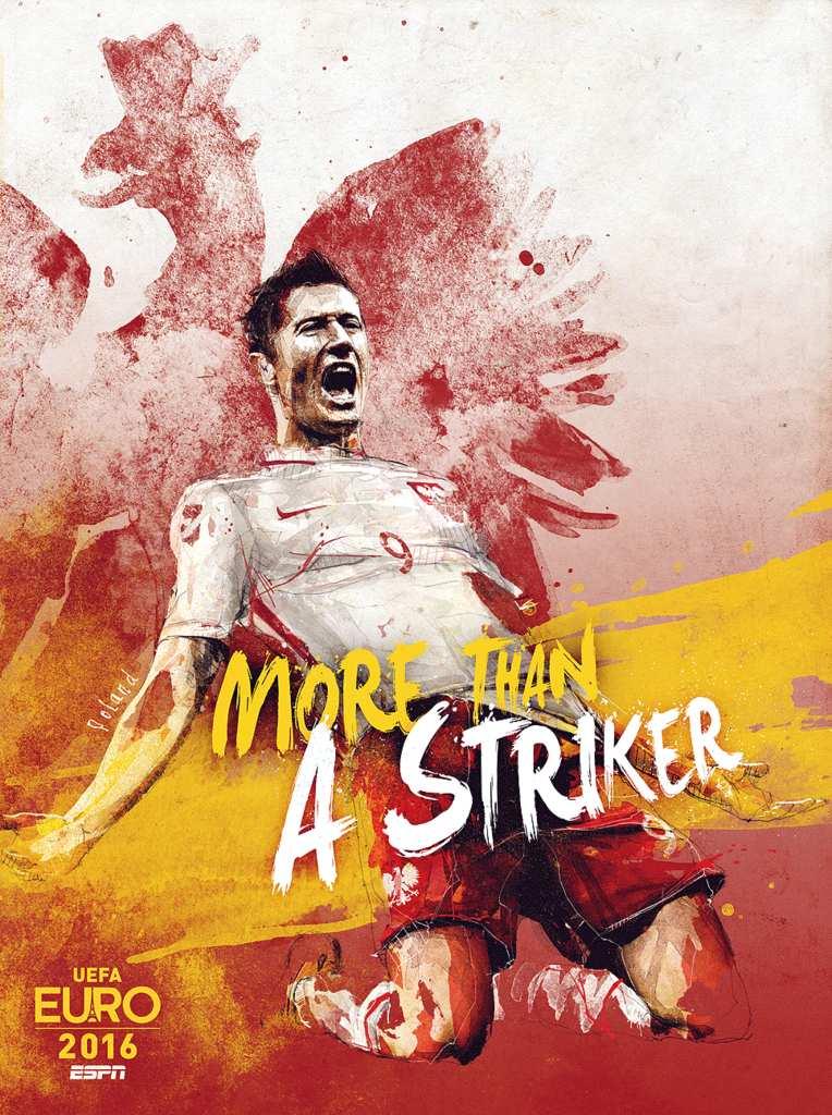 Плакат сборной Польши
