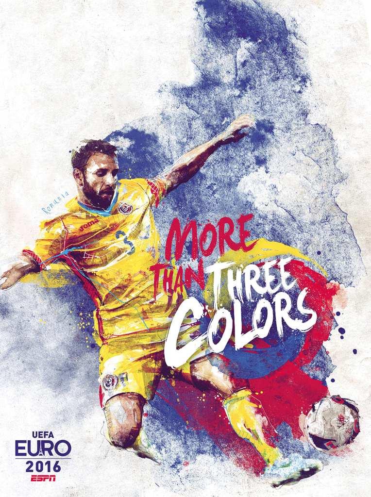 Плакат сборной Румынии