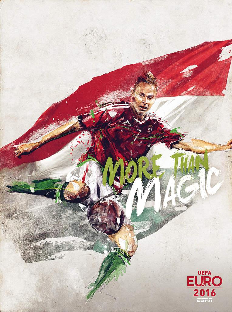 Плакат сборной Венгрии