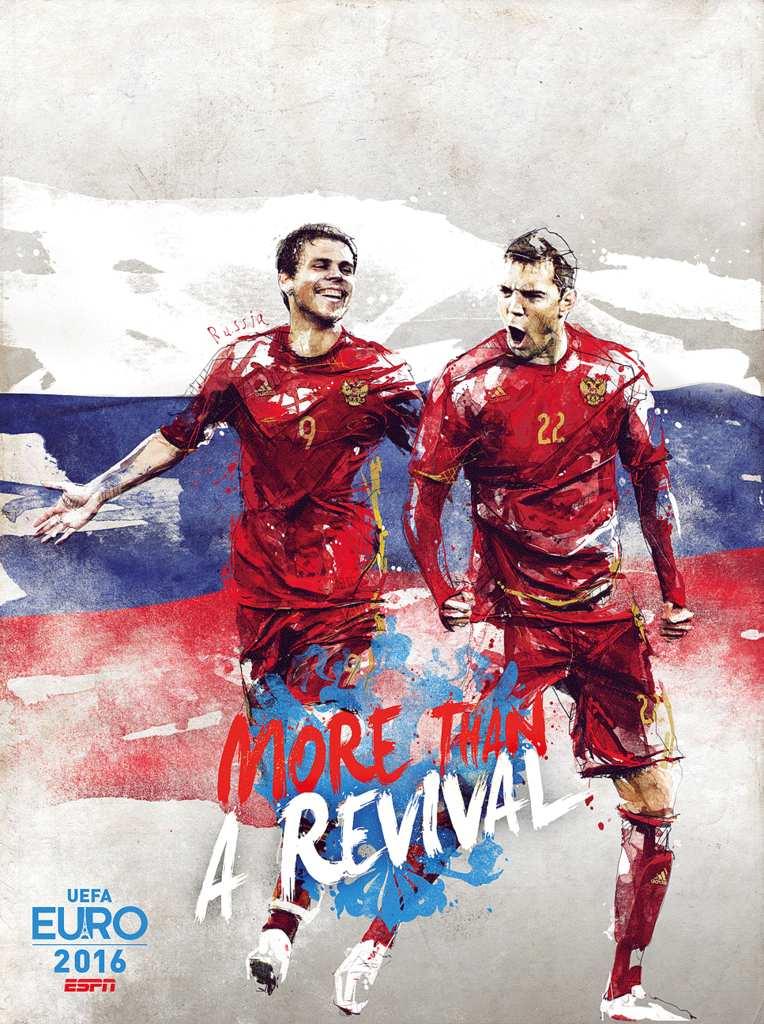 Плакат сборной России