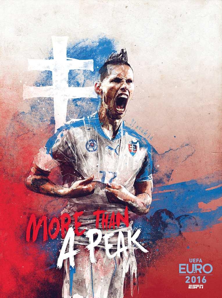 Плакат сборной Словакии