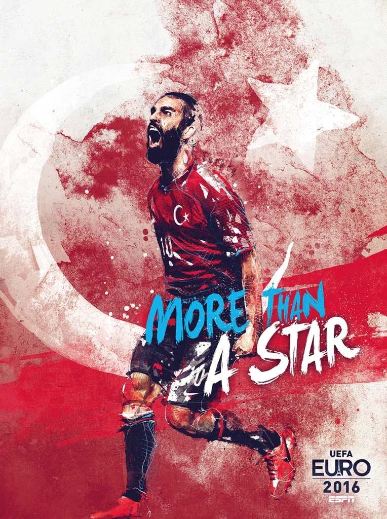 Плакат сборной Турции