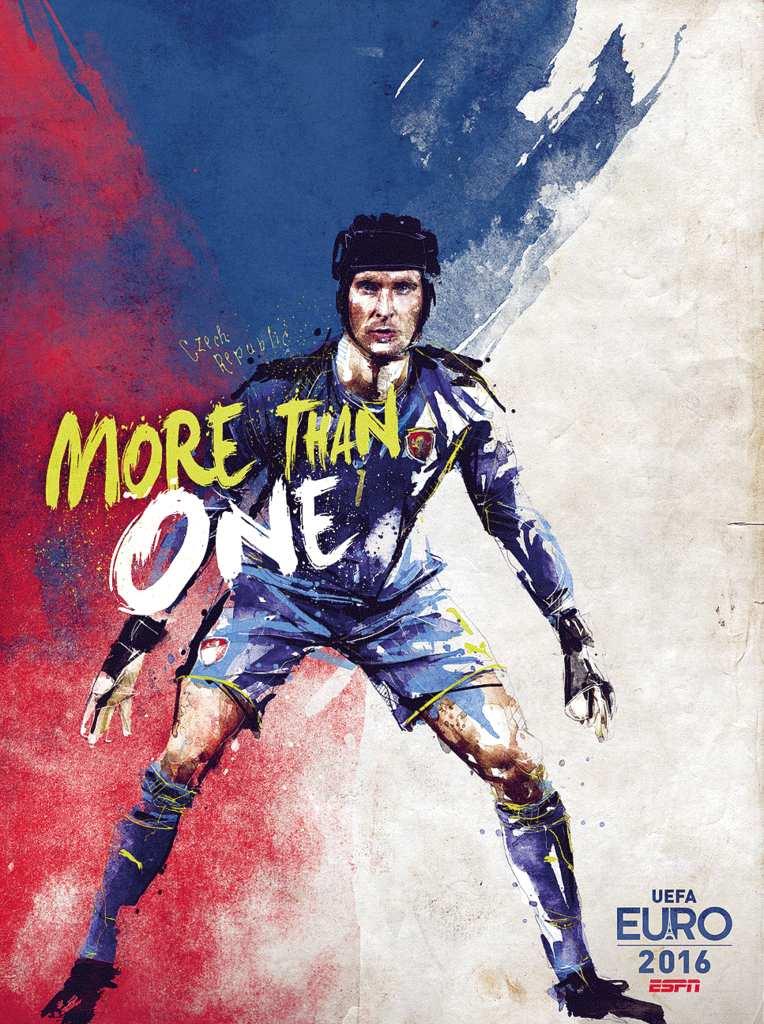 Плакат сборной Чехии