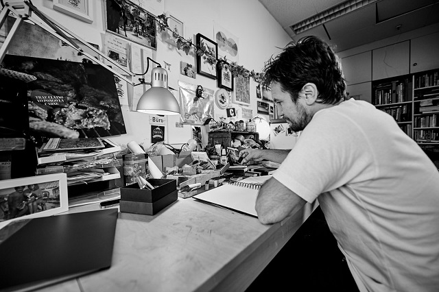 Мартин Тибабузо в студии