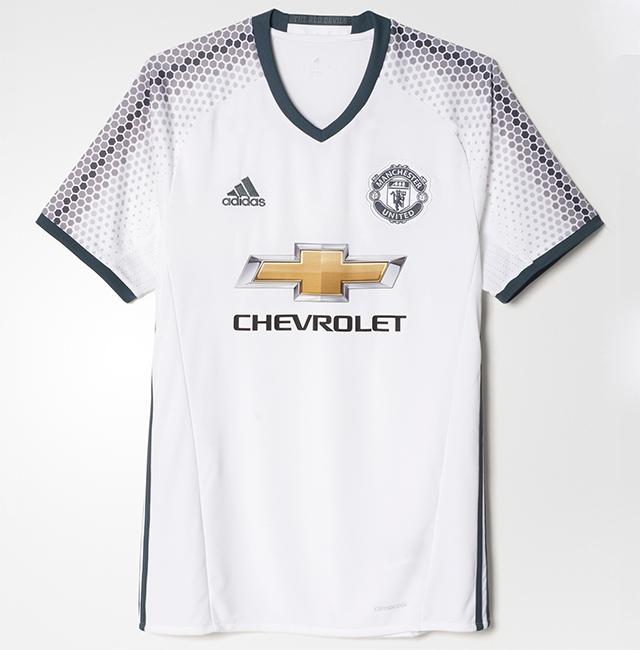 """Третья форма """"Манчестер Юнайтед"""" 16/17"""