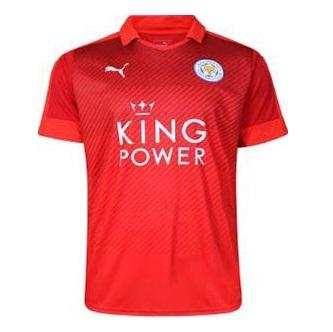 Гостевая форма Лестера 16-17 Leicester City away kit 2016-2017