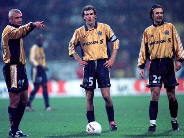 Fabrizio Ravanelli, Laurent Blanc & Christophe Dugarry