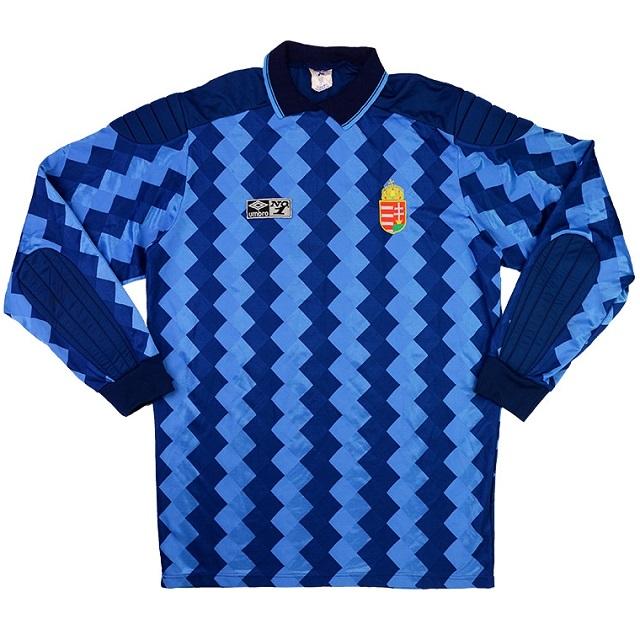 Вратарская форма сборной Венгрии 88-91
