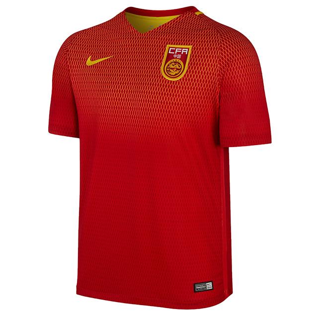 Домашняя форма сборной Китая 2016
