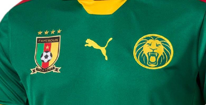 Новая форма сборной Камеруна 2017
