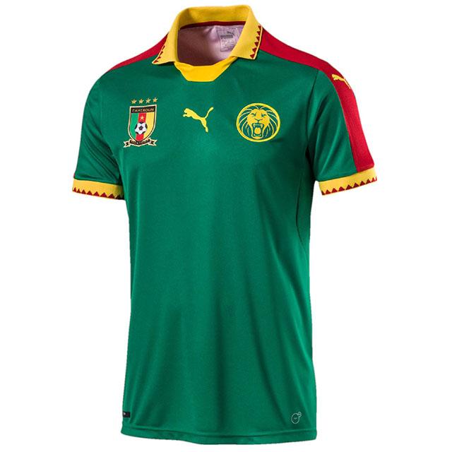 Домашняя форма сборной Камеруна 2017