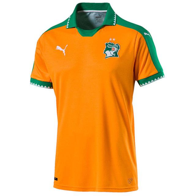 Домашняя форма сборной Кот-д'Ивуара 2017