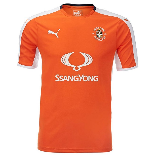"Домашняя форма ""Лутона"" 16/17 