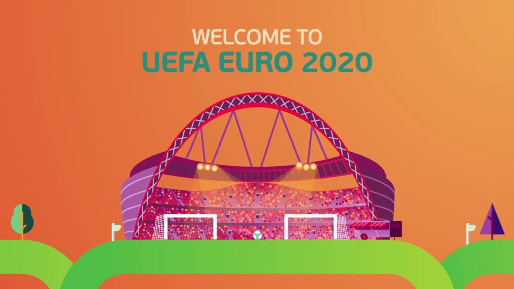 Официальная визуализация Евро-2020