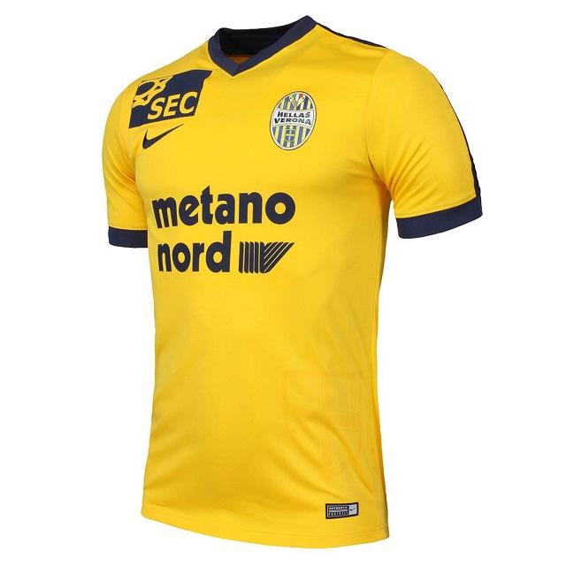 "Гостевая форма ""Вероны"" 16/17   Hellas Verona 2016-17 Away Kit"