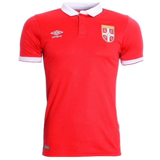 Домашняя форма сборной Сербии 16/17 | Serbia Home kit 16-17
